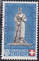 Pro Patria No B6 Variété : Couleur Rouge De L'écusson Déplacée à Gauche - Errores & Curiosidades