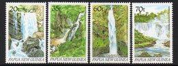 PAPUA NEW GUINEA, 1990 WATERFALLS 4 MNH - Papua New Guinea