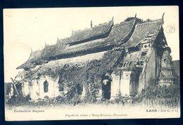 Cpa Du Laos Pagode En Ruines à Xieng Khouang - Tranninh (2)  Avril18-26 - Laos