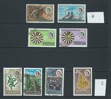 Rhodesia & Nyasaland 1961 - 1963 Tobacco , Mines & YMCA Sets Mixed Mint & Used - Rhodesia & Nyasaland (1954-1963)