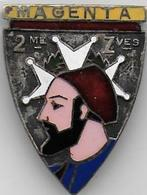 2e Régiment De Zouaves - Insigne émaillé Mourgeon - Army