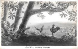 [DC11975] CPA - GALLI - CHANTECLER - ACTE II - LE MATIN DU COQ - Non Viaggiata - Old Postcard - Animali