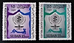 LUTTE CONTRE LE PALUDISME 1962 - NEUFS ** - YT 142/43 - MI 175/76 - Soudan (1954-...)