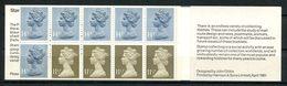 Gd Bretagne 1981 Carnet N° C966ab ** Neuf MNH Superbe Cote 15 €  Elizabeth II - Libretti