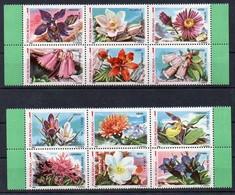 Rumänien 1987 MiNr. 4372/ 4383 **/ Mnh ; Flora Europäischer Naturschutzgebiete - Pflanzen Und Botanik