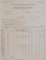 74 400 SAINT FELIX HAUTE SAVOIE 1921 Fromages De Gruyere Emmenthal Conte PICON FILS Telephone A ALBENS FROMAGE A HERAIL - France