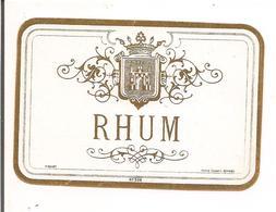 Etiquette  Rhum - Imprimeur Pichot - Années 1910 - - Rhum