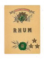 Etiquette  Rhum - Distillerie De Liqueurs - HP - Chromo-litho - - Rhum