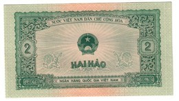 Vietnam 2 Hao 1958 UNC - Vietnam