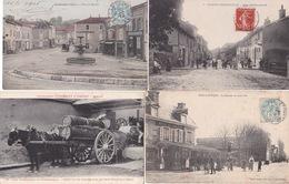 100 CPA TOUTE FRANCE  LOT GRIB - Cartes Postales