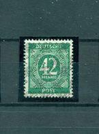 Bizone, Posthörnchennetzaufdruck Auf Ziffern, Nr. VII/II Postfrisch** Altgeprüft - Bizone