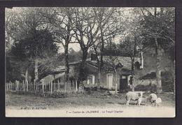 CPA 17 - LA JARRIE - Canton De La Jarrie - Le Treuil Chartier - TB PLAN Maison Etablissement + Moutons Au 1er Plan - France