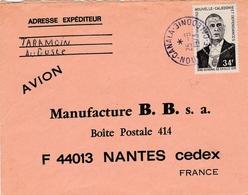 Canala 1973 - Lettre Brief Cover - Calédonie - Nouvelle-Calédonie