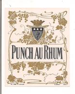 Etiquette Punch Au Rhum - Imprimeur Jouneau - - Rhum
