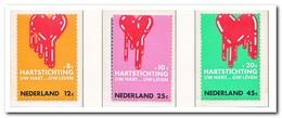 Nederland 1970, NVPH 975-977, Postfris MNH, Heart Foundation - 1949-1980 (Juliana)