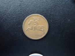 LITHUANIE : 10 CENTU  1991   KM 88   SUP Patine - Lithuania