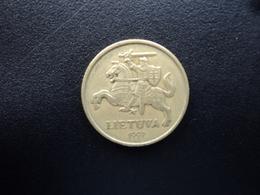 LITHUANIE : 20 CENTU  1997   KM 107    TTB - Lithuania