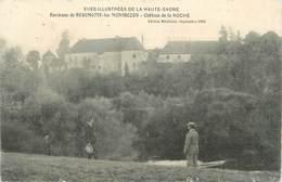 """CPA FRANCE 70 """" Environs De Beaumotte Les Montbozon, Château De La Roche"""". - France"""