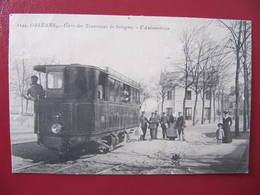 CPA - ORLEANS - GARE DES TRAMWAYS DE SOLOGNE - L'AUTOMOTRICE (Etat : Légère Usure) - Orleans