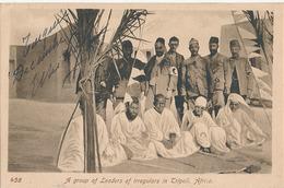 A GROUP OF LEADERS OF IRREGULARS IN TRIPOLI AFRICA - N° 498 - Libye