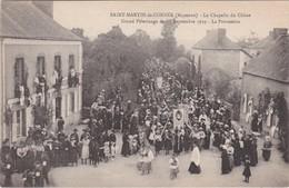 SAINT-MARTIN-de-CONNEE - La Chapelle Du Chêne - Grand Pèlerinage Du 15 Septembre 1919 - La Procession - TBE - Altri Comuni