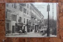 CHAMBERY (73) - QUAI NEZIN - L'HOTEL DE FRANCE - L'HOTEL DE SAVOIE - Chambery