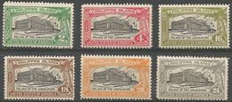 Philippines - 1926 Legistlative Palace MNH **    Mi 305-10  Sc 319-24 - Philippines