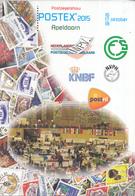 Nederland - Catalogus Postzegelshow POSTEX 2015 - Nieuw Exemplaar - Filatelistische Tentoonstellingen