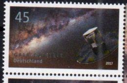GERMANY, 2017, MNH, SATELLITES, GAIA SATELITE, 1v - Space