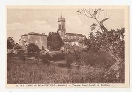 07 Notre Dame De Bon Secours, Pension Saint Joseph Et Basilique (2995) L300 - France