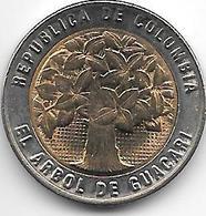 Colombia 500 Pesos 2011 Km 286  Unc - Colombia