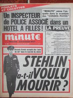 Minute N°687 (11/17 Juin 1975) Poulets Et Cocottes - Stehlin - Bardot - Djibouti - 1950 - Oggi