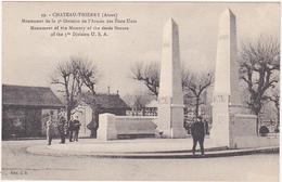 CHATEAU-THIERRY (Aisne) - Monument D La 3e Division De L'Armée Des Etats-Unis - Monumenti Ai Caduti