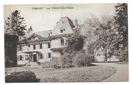 VANDOEUVRES - Pressy ( Château - Villa ) - Vandoeuvre Les Nancy