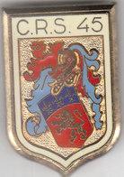 PUCELLE CRS 45 LYON - CHASSIEU - Police & Gendarmerie