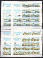 1977 Malta EUROPA CEPT EUROPE 40 Serie Di 2v. MNH** In 8 Minifogli Minisheets - 1977