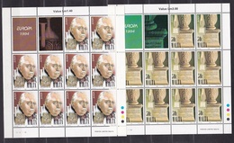 1994 Malta EUROPA CEPT EUROPE 10 Serie Di 2v. MNH** In 2 Minifogli 2 Minisheets - Malta