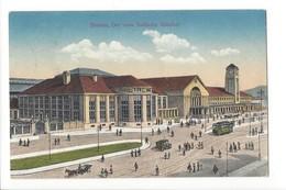 19874 - Basel Der Neue Badische Bahnhof Tram - BS Bâle-Ville