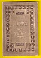 JOURS SUR TOILE 1 * BIBLIOTHEQUE DMC BRODERIE DENTELLE BRODEUSE DENTELLIERE POINT DE CROIX CROSS STITCH KRUISSTEEK Z365 - Cross Stitch