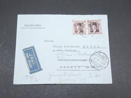 EGYPTE - Enveloppe De Alexandrie Pour L' Autriche En 1939  Affranchissement Plaisant - L 17432 - Egypt