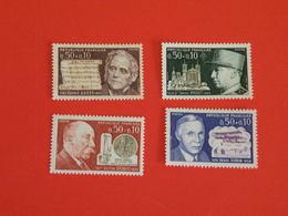 Lot 4 Timbres > N°1667 à 1670 Y&T > Série Des Personnages Célèbres (1971) - Coté 2,50€ - France