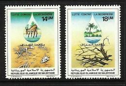 MAURITANIA 1985 DROUGHT SET MNH - Mauritania (1960-...)
