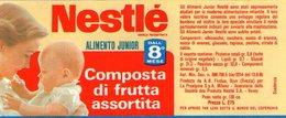 B 1856 - Etichetta, Nestlé - Frutta E Verdura