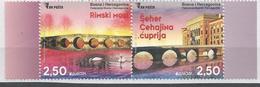 BH 2018-05 EUROPA CEPT, BOSNA AND HERZEGOVINA, 1 X 2v, MNH - Bosnie-Herzegovine
