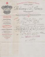 75 19 967 PARIS SEINE 1895 Lits Sommiers BONAMY - DE SARNEZ Succ SIBILLAT HERBET Rue Arbalete A JULES ALRIQ - France