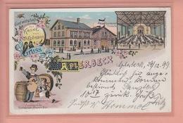 OLD POSTCARD  GERMANY -  GRUSS AUS APLERBECK 1899 - Dortmund
