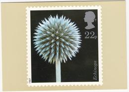 Echinops - Flowers  (22p Stamp) -  1987 - (U.K.) - Postzegels (afbeeldingen)
