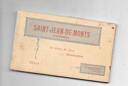 10787 - 85 - Carnet De 10 Cartes De ST JEAN DE MONTS - Saint Jean De Monts