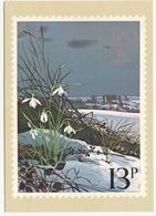 Snowdrops  - British Flowers  (13p Stamp) -  1979 - (U.K.) - Postzegels (afbeeldingen)