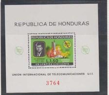 HONDURAS      1968      BF  N°   12           COTE     22  €00 - Honduras
